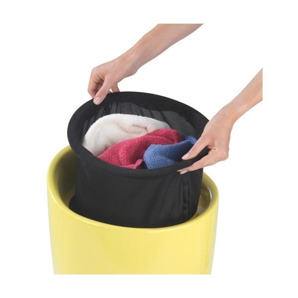 Žltý kôš na bielizeň a taburetka v jednom Wenko Candy