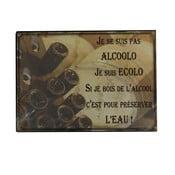 Plechová ceduľa Antic Line Alcoolo