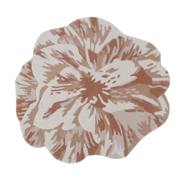 Vlnený koberec Juniper Beige, 90 cm