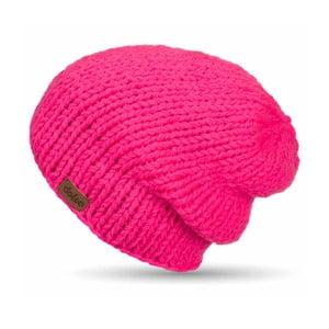 Ručne pletená čapica DOKE Pink Beanie
