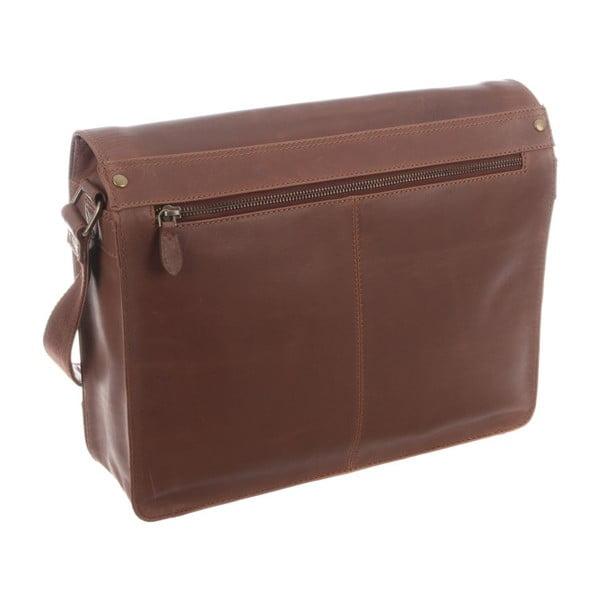 Kožená taška Darwin Natural Vintage