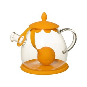 Čajová kanvica so sitkom Ramponi Orange