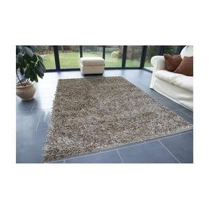 Béžový koberec Webtappeti Shaggy, 60 x 100 cm