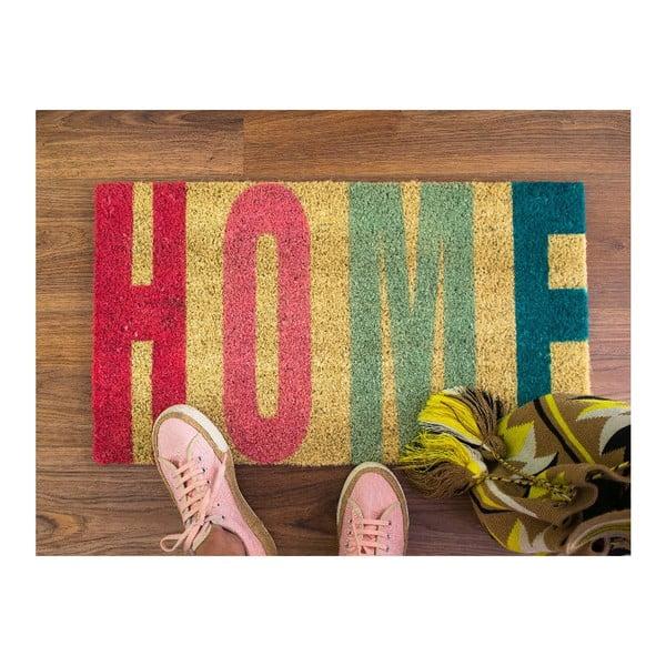 Rohožka z kokosových vlákien Fisura Home Rojo, 40x70cm