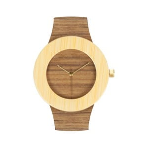 Drevené hodinky Analog Watch Co. Teak & Bamboo