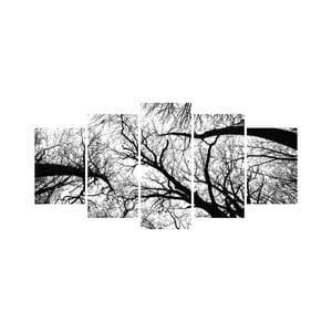 Viacdielny obraz Black&White no. 95, 100x50 cm
