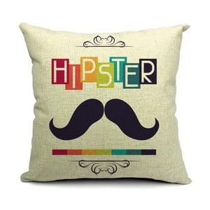 Obliečka na vankúš Hipster, 45x45 cm