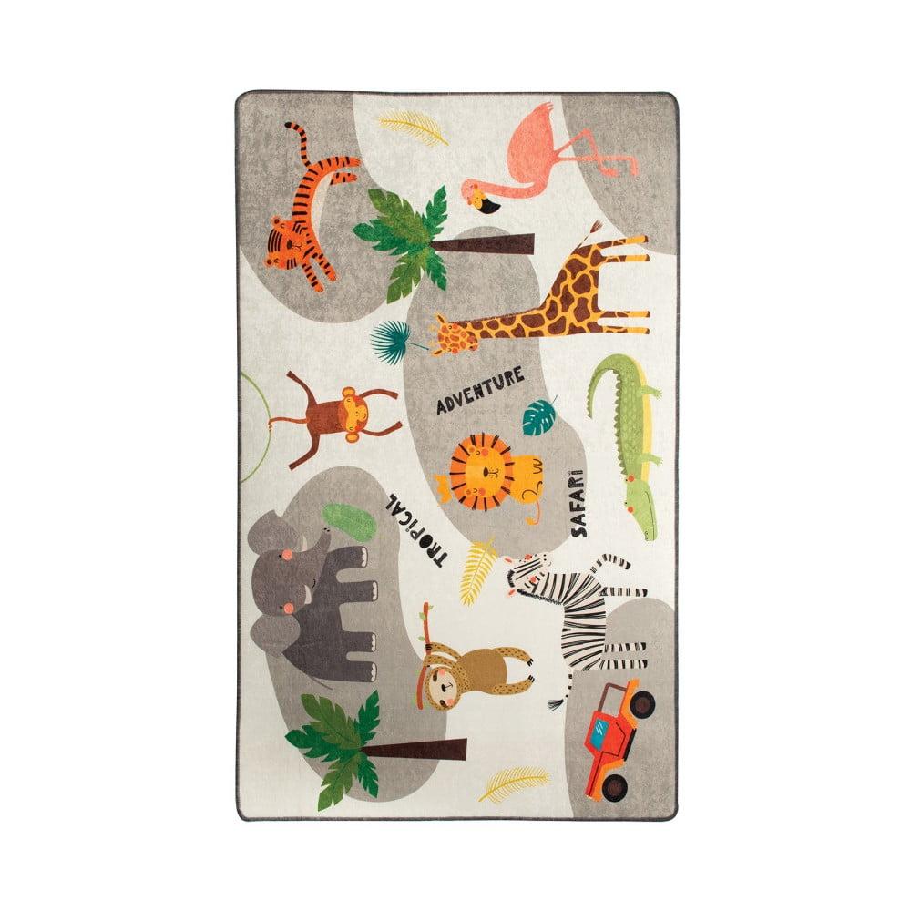 Detský koberec Safari, 140 × 190 cm