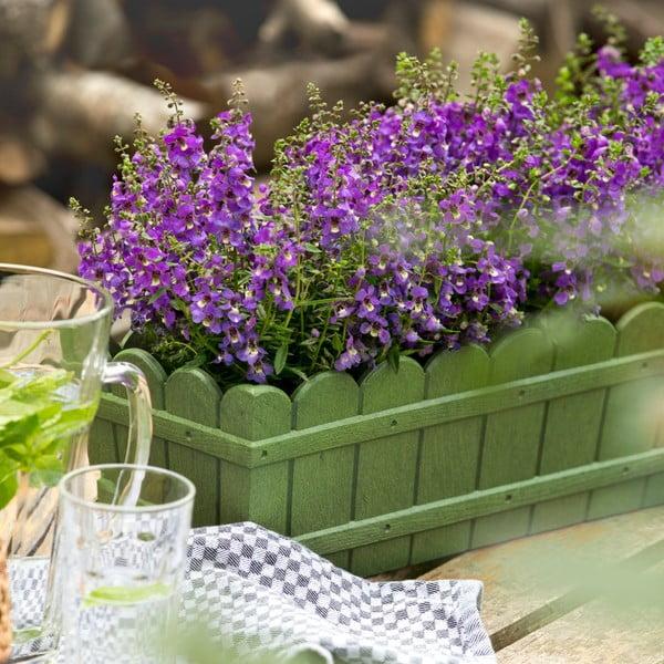 Vysoko odolný kvetináč na parapet Country 75 cm, antracit