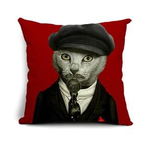 Obliečka na vankúš Mr. Cat, 45x45 cm