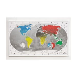 Mapa sveta The Future Mapping Company Commemorative World Map, 101 × 60 cm