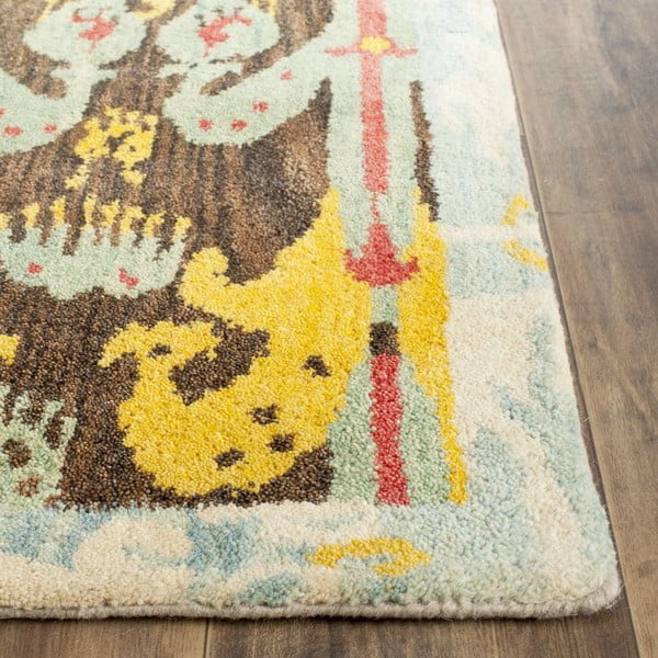 Vlnený koberec Hamish Ikat, 121x182 cm