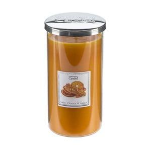 Aróma sviečka Sweet Orange & Amber Tall, doba horenia 70 hodín