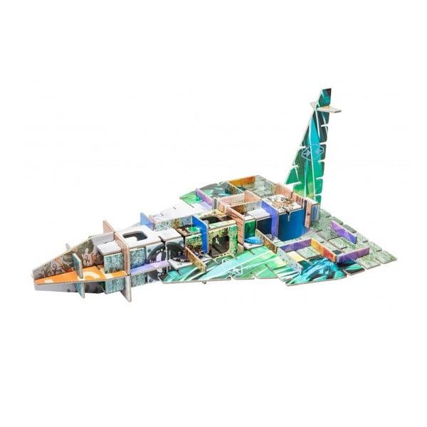 3D skladačka 4v1 City