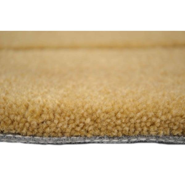 Ručne tkaný koberec Tufting, 140x200 cm, capuccino