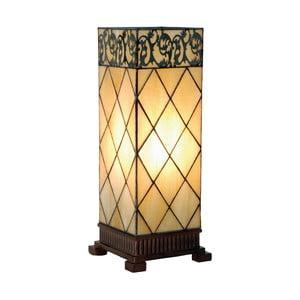 Tiffany stolná lampa Filigree