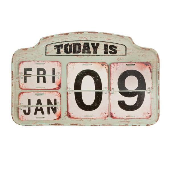 Béžový kalendár Clayre & Eef