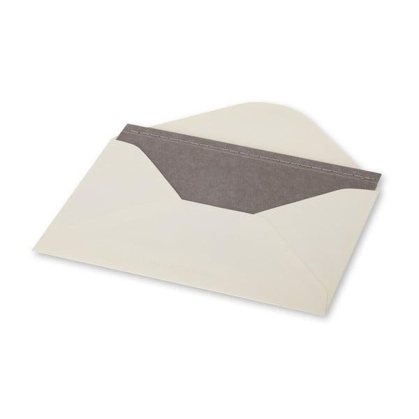Listový set Moleskine Light Grey, zápisník + obálka
