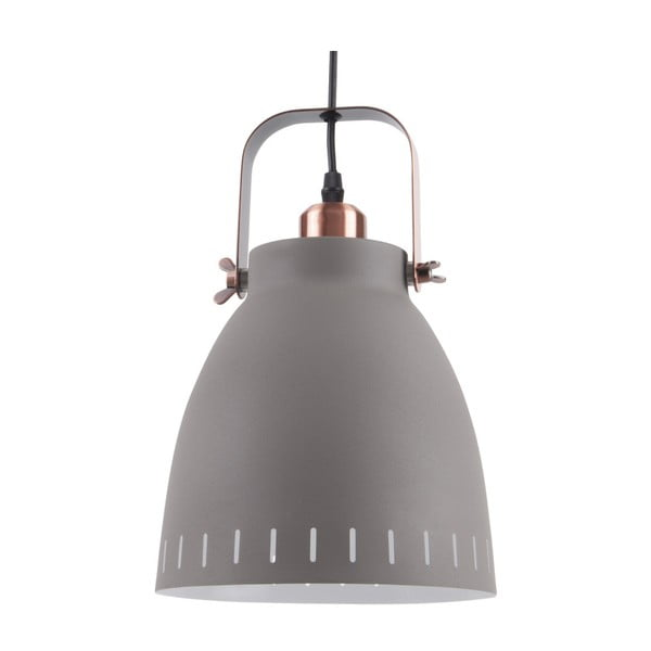 Veľké sivé stropné závesné svietidlo Leitmotiv Mingle
