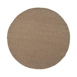 Vlnený koberec Asko, 150 cm, sivý