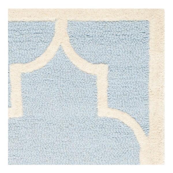 Vlnený koberec  Safavieh Lola Sky, 91x152 cm