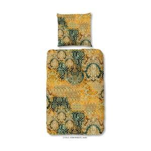 Obliečky na jednolôžko z bavlneného saténu Muller Textiels Prasila, 140×200 cm