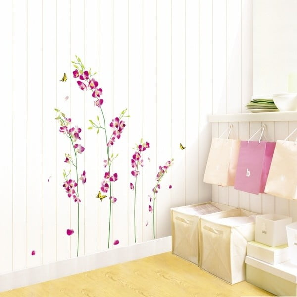 Samolepka Ambiance Orchids Flowers