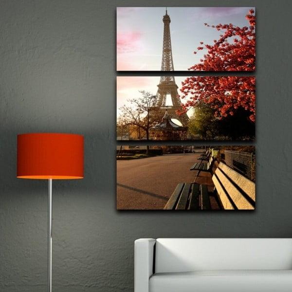 3-dielny obraz Jar v Paríži