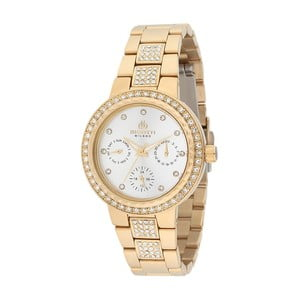 Dámske hodinky zlatej farby z antikoro ocele Bigotti Milano Cindy