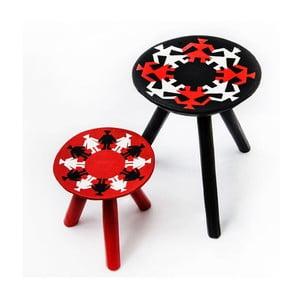 Sada 2 ručne maľovaných stoličiek Mandra