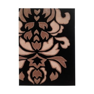 Koberec Floorita Timeless Ashbourne Black Cream, 80 x 150 cm