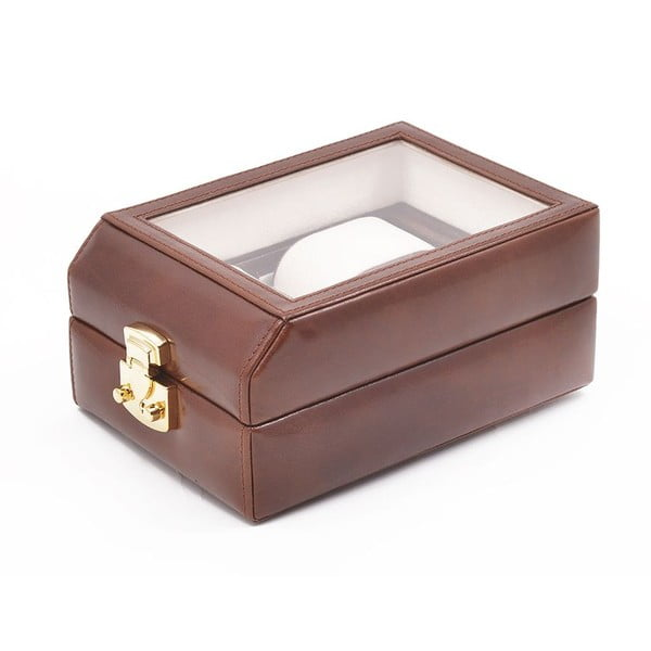 Kožené puzdro na hodinky Ferruccio Laconi Brown