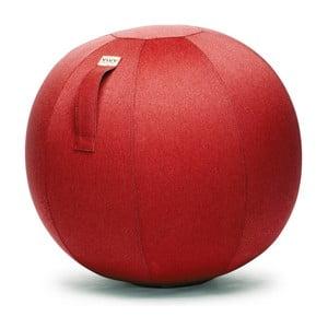 Červená lopta na sedenie VLUV Leiva, Ø70-75cm