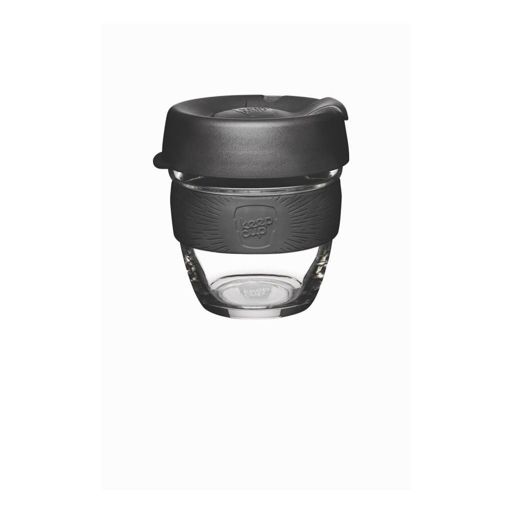 Cestovný hrnček s viečkom KeepCup Brew Black, 227 ml