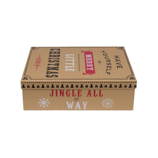 Sada 3 ks boxov Tri-Coastal Christmas Cookie
