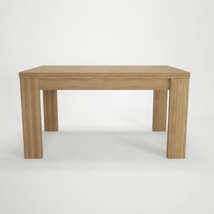 Jedálenský rozkladací stôl z bukového dreva Artemob, 160×75 cm