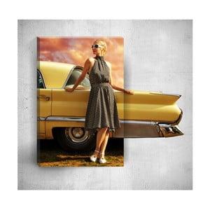 Nástenný 3D obraz Mosticx Elegant Woman, 40×60 cm