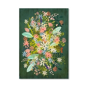 Plagát od Mia Charro - Flowers