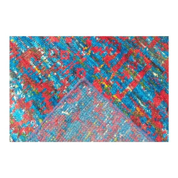 Ručne tkaný koberec Ikat H8 Blue, 160x230 cm