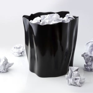 Odpadkový kôš QUALY Flow Bin, čierny