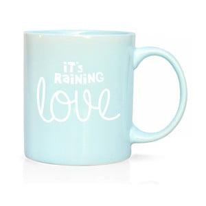 Porcelánový hrnček We Love Home Raining Love, 300 ml