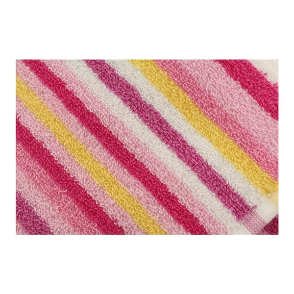 Sada 2 osušiek Cizgi Pink, 40x80cm