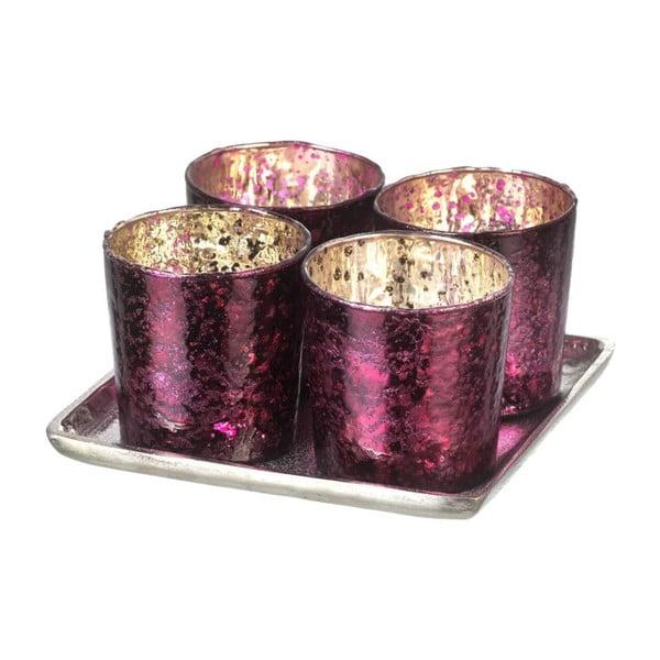 Svietnik Glamour Purple