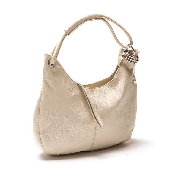 Kožená kabelka Patricia, béžová