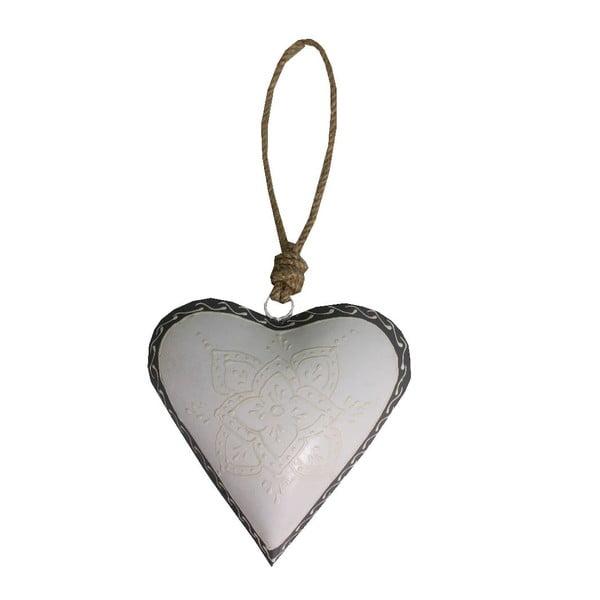 Dekoratívne srdce Antic Line Light Heart, 16 cm