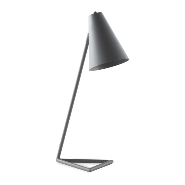 Sivá stolová lampa Geese Simple