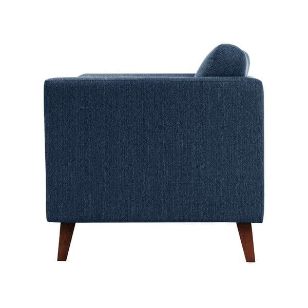 Pohovka pre troch Jalouse Maison Elisa, džínsová modrá