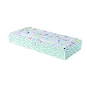 Zelený úložný box pod posteľ Compactor, dĺžka 137 cm