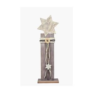 Drevená dekorácia Ego Dekor Star, výška 58 cm