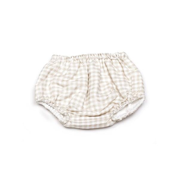 Obojstranné nohavičky na plienky Vichy Diaper, od 3 do 6 mesiacov